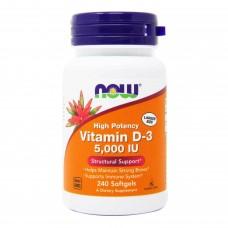 Витамин D-3 5000 (Now)