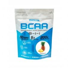 PRO BCAA (8-1-1) 200 G (порошковые ВСАА 200г / 20 порций) (KING PROTEIN)